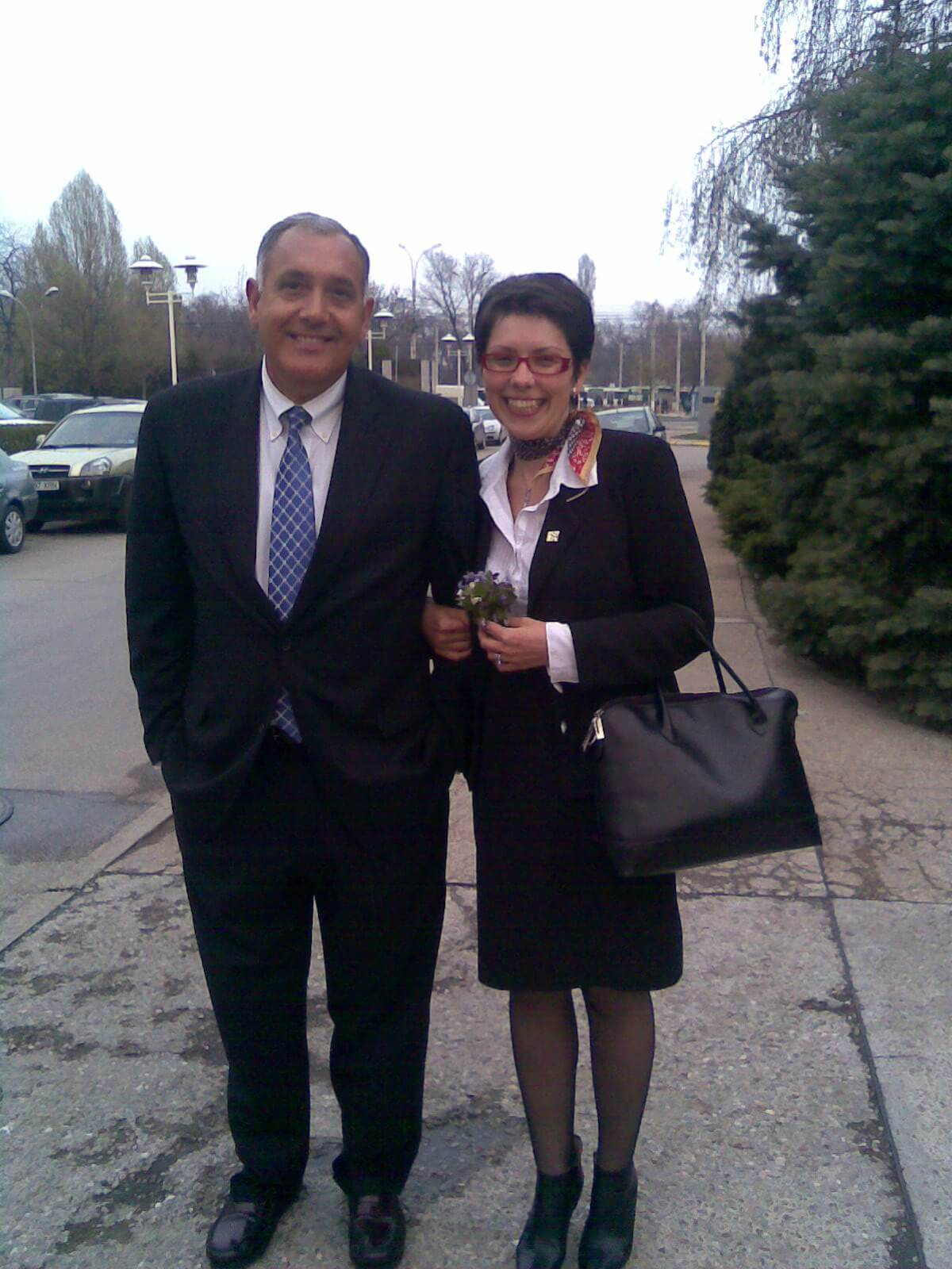 Joe & Miha Bucharest April 2009